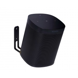 Vebos supporto a muro Sonos One nero 20 grad
