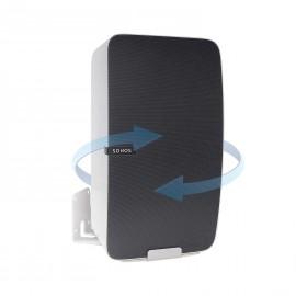 Vebos supporto a muro Sonos Play 5 gen 2 girevole bianco - verticale