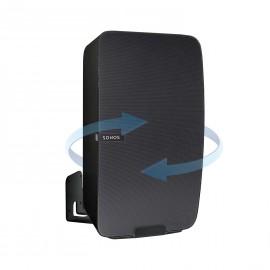 Vebos supporto a muro Sonos Play 5 gen 2 girevole nero - verticale