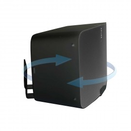Vebos supporto a muro Sonos Play 5 gen 2 girevole nero