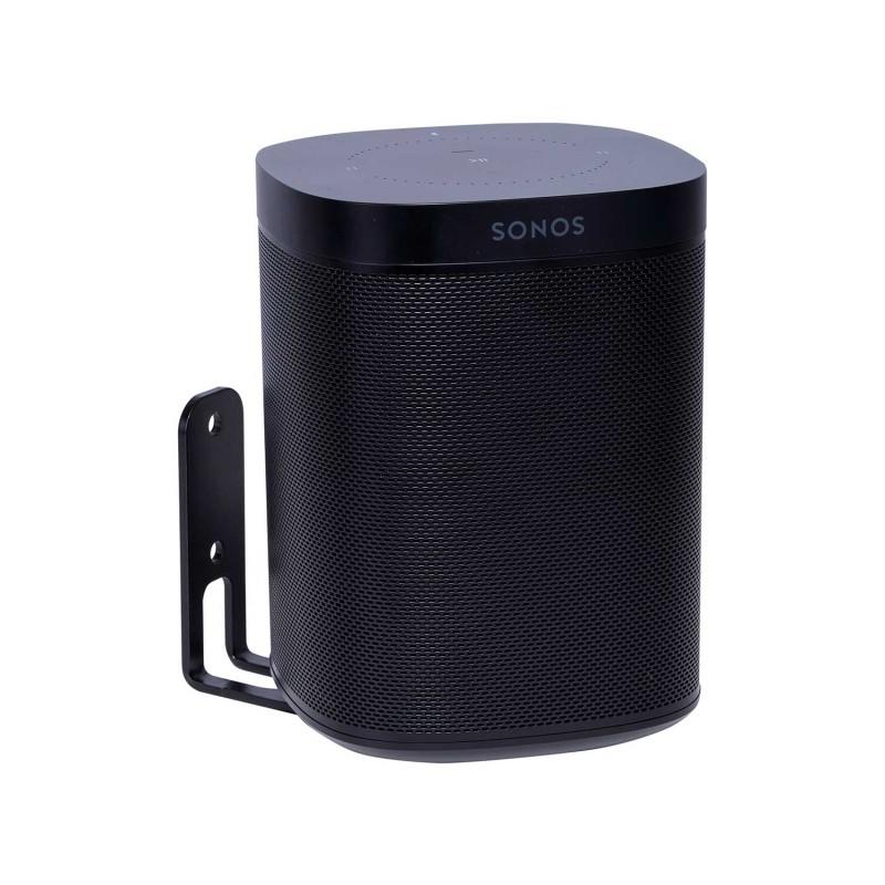 Vebos supporto a muro Sonos One nero