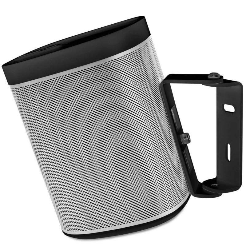 Vebos supporto a muro Sonos Play 1 nero 15 grad