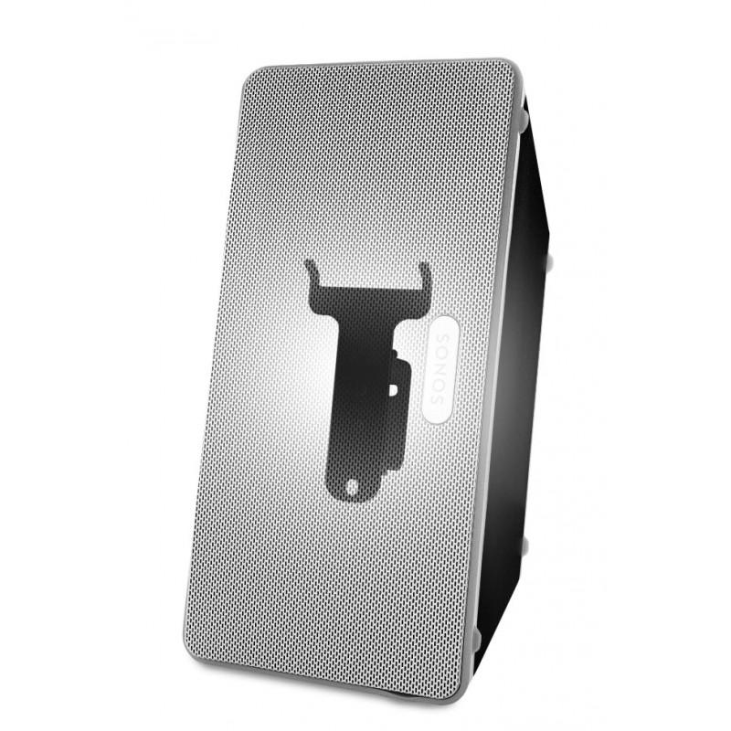 Vebos supporto a muro Sonos Play 3 nero