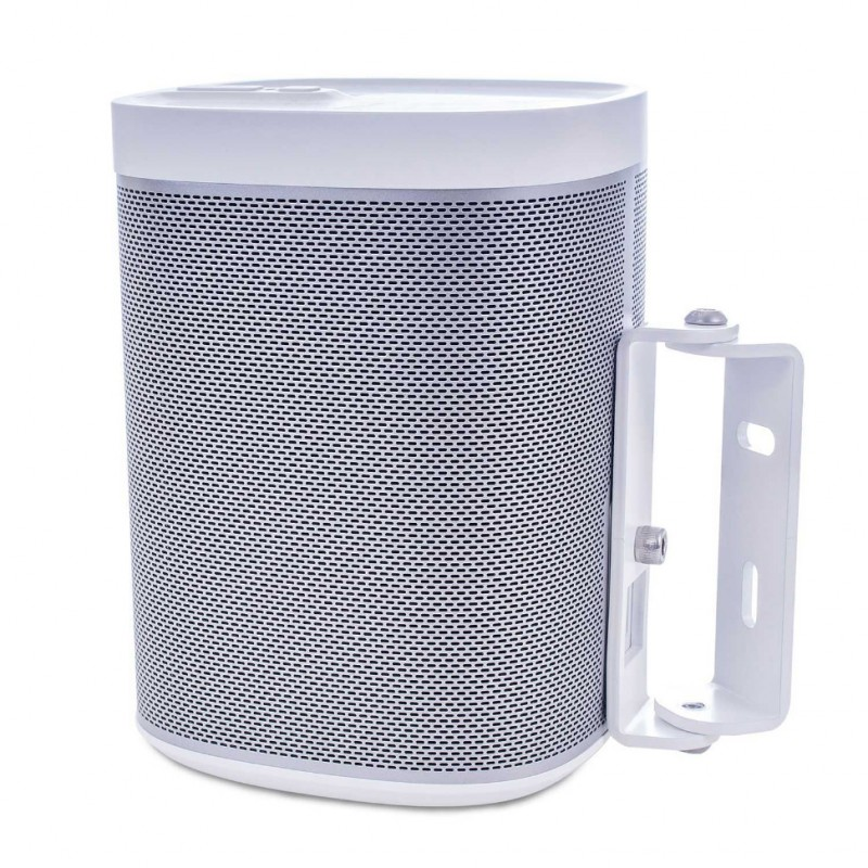 Vebos supporto a muro Sonos Play 1 bianco doppio