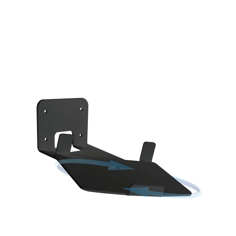 Vebos supporto a muro Sonos Play 5 gen 2 girevole 20 gradi nero