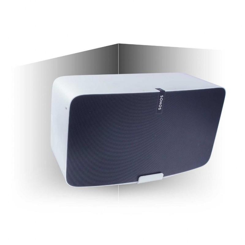 Vebos supporto a muro angolo Sonos Play 5 gen 2 bianco 20 grad