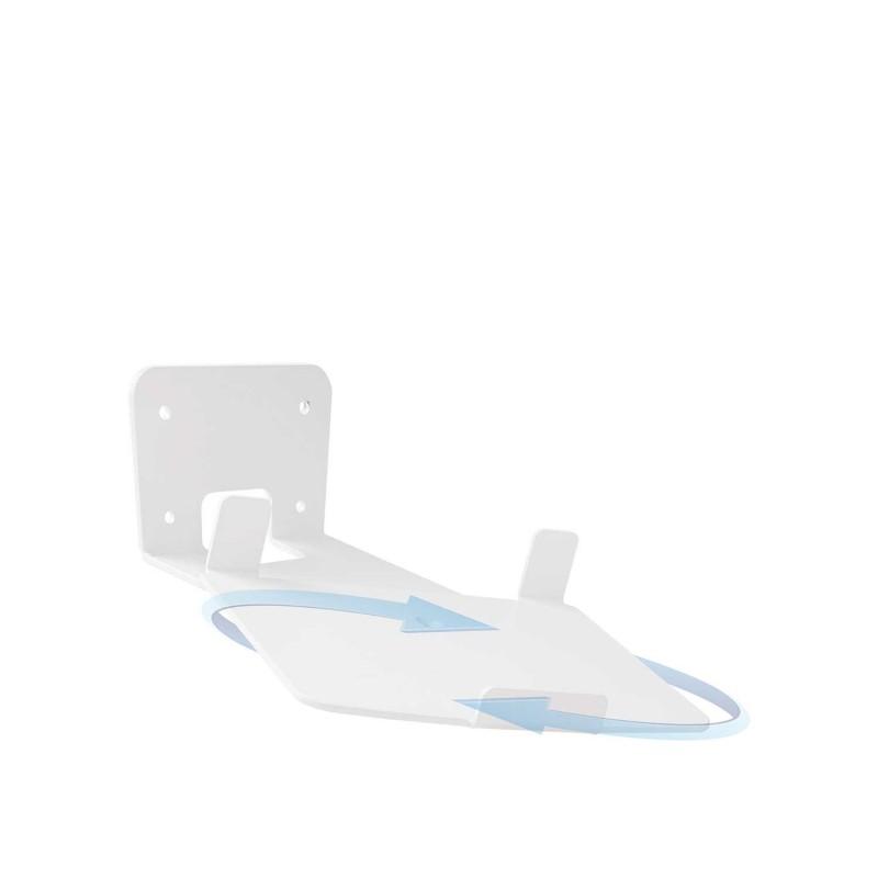 Vebos supporto a muro Sonos Play 5 gen 2 girevole 20 gradi bianco