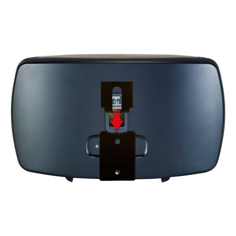 Vebos portable supporto a muro Pure Jongo T4X nero