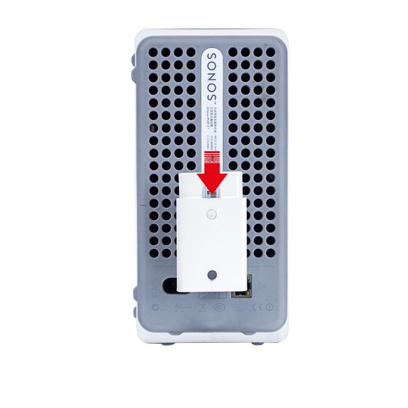 Vebos portable supporto a muro Sonos Play 3 bianco