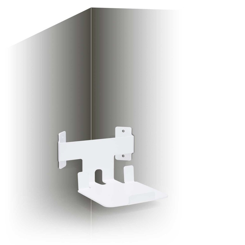 Vebos supporto a muro angolo Sonos Play 5 gen 2 bianco - verticale