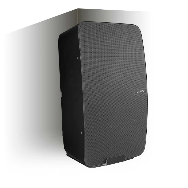 Vebos supporto a muro angolo Sonos Play 5 gen 2 nero
